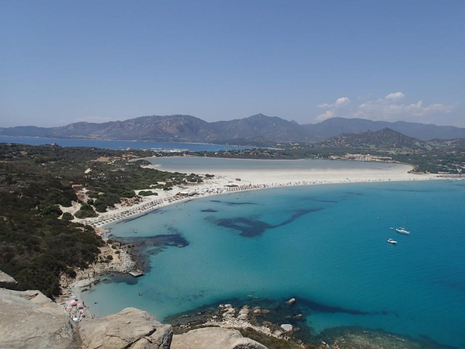 Beaches in Villasimius Sardinia